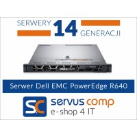 Dell EMC PowerEdge R640 www.servus-comp.pl