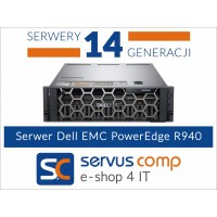 DELL EMC POWEREDGE R940 www.servus-comp.pl