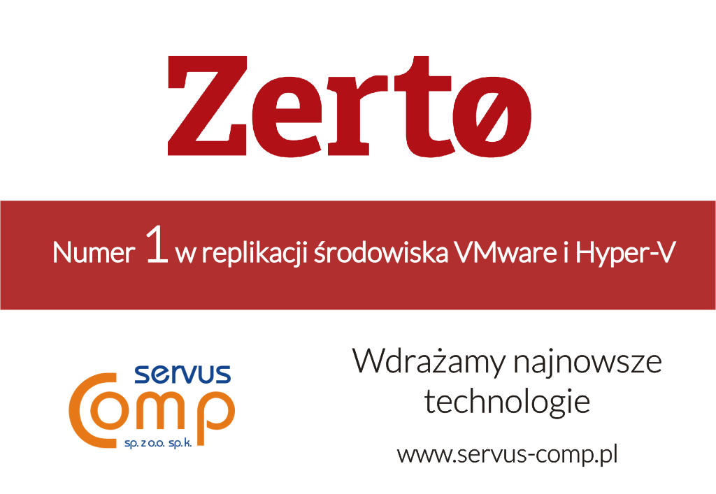 ZERTO Disaster Recovery DR - Virtual Replication