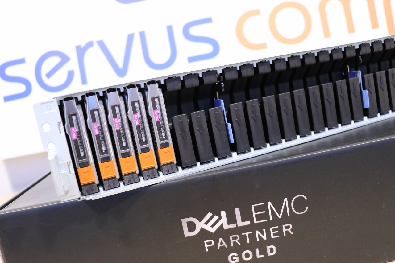 Półka dyskowa DELL EMC do macierzy DELL EMC VNX 5200 Servus Comp GOLD PARTNER DELL EMC
