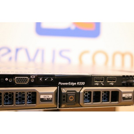 Serwer Dell™ PowerEdge R330 RACK 1U www.Servus-Comp.pl