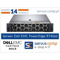 Dell EMC PowerEdge R740XD www.servus-comp.pl