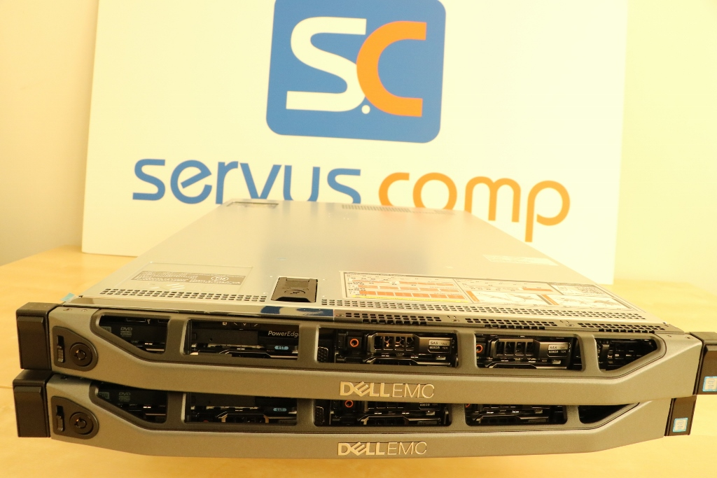 2 x serwer Dell Power Edge R630 obudowa RACK Servus Comp Gold Partner Dell EMC