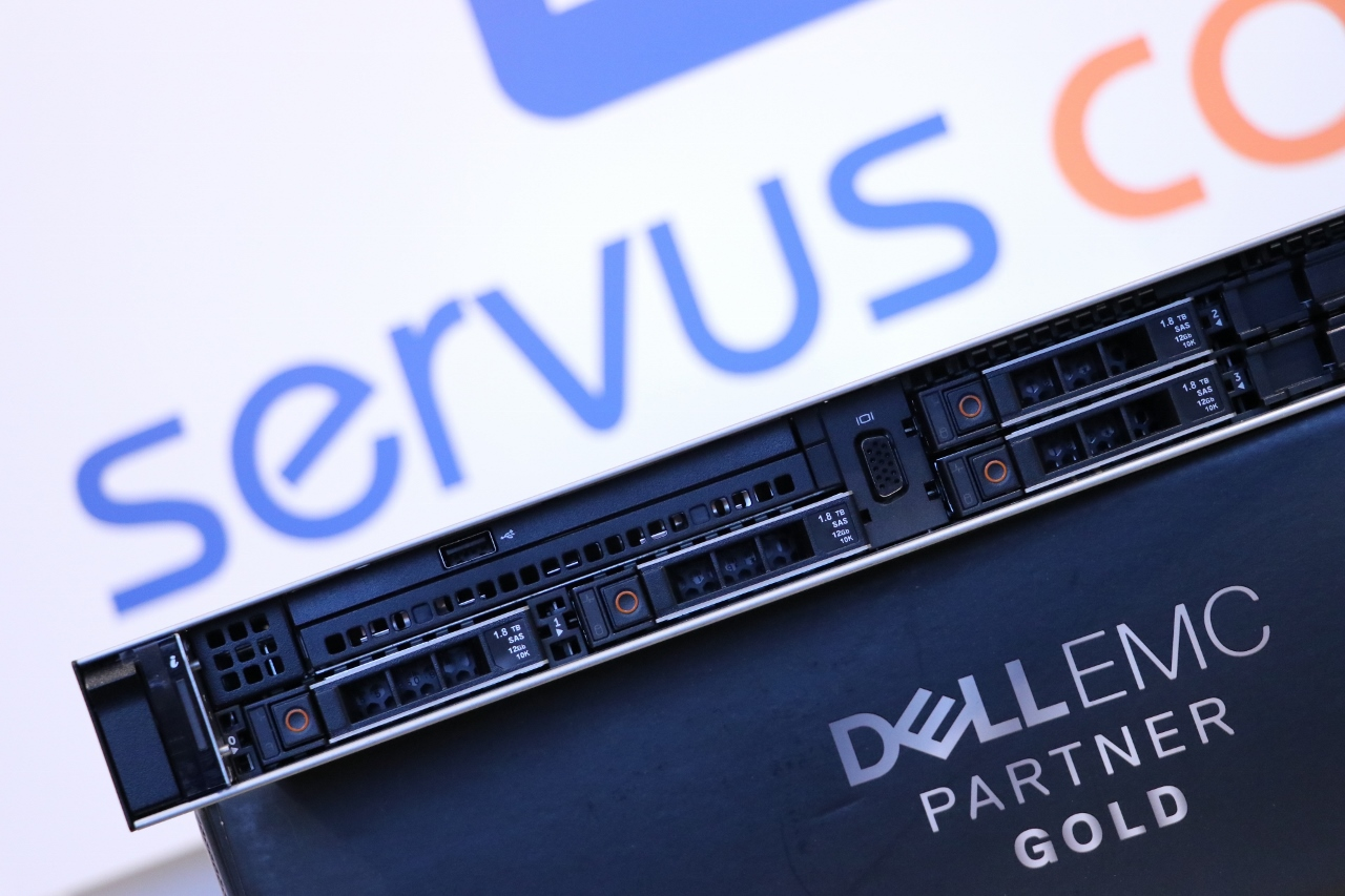 Serwer Dell EMC PowerEdge R440 1u RACK Servus Comp Gold Partner Dell EMC www.servus-comp.pl