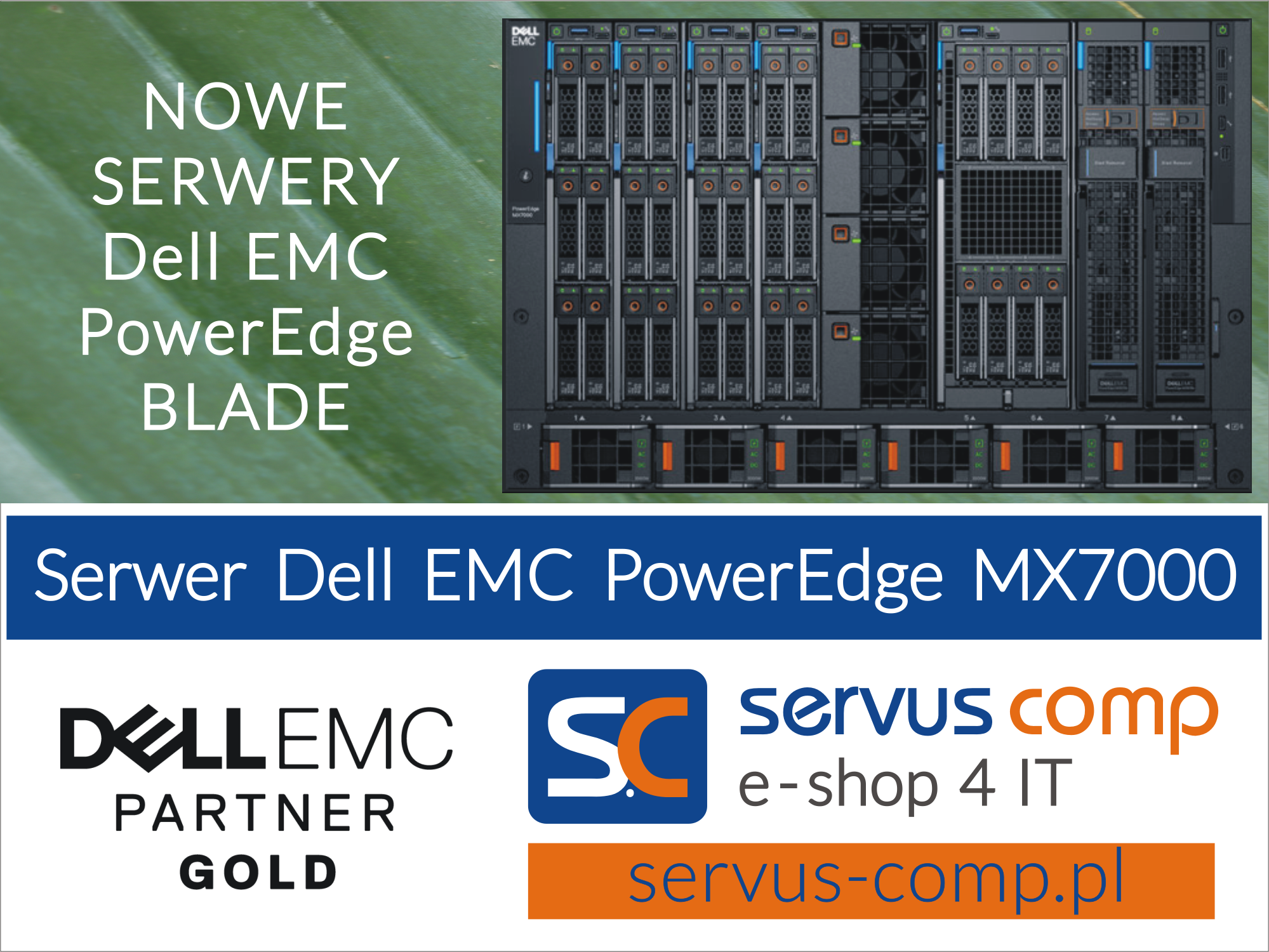 Obudowa blade serwer Dell EMC PowerEdge MX7000