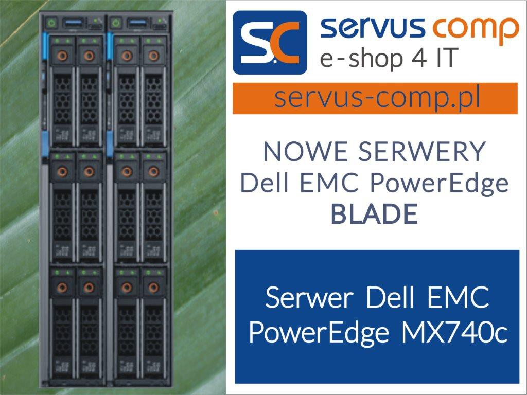 Serwer blade Dell EMC PowerEdge MX740c